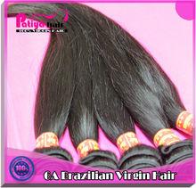 Virgin Brazilian Straight Human Hair clip on hair pieces