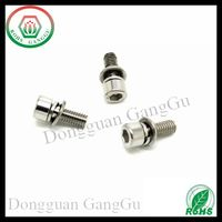 DIN912 M1.6*3 Stainless Steel A2 Hex Socket Head Cap Screw with washer