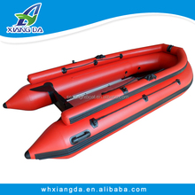 2015 China Factory CE Certificate Korean PVC 0.9mm Fishing Boat Inflatable For 5 Persons