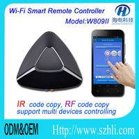 Wiress WIFI smart home Villa remote controller WIF to IR, WIFI to RF/ WIFI wireless smart home automation control by android IOS