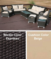 Euopean Style 7pc Outdoor Furniture Wicker furniture liquidation SGC-130147A