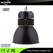 CE RoHS industrial led lamp warehouse lighting project with new black design