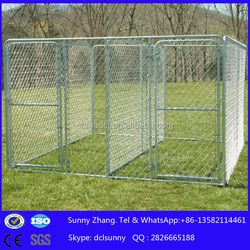 2015 hot sale galvanized chain link easily Assembled Dog Run Kennels