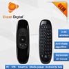 2.4Ghz wireless best full QWERTY mini keyboard air mouse fly mouse T10 C120 air mouse unique original factory