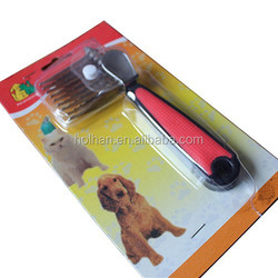pet grooming tools high quality confortable pet hair combs /brush