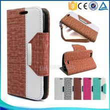 New arrival mix color wallet style design cell phone case for vivo Y35