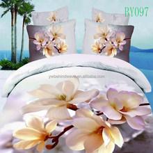 flower printed european style bedding set