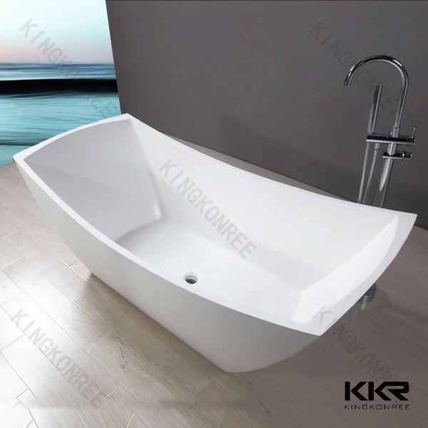 kkr stone bathtub floor stand bathtub solid surface