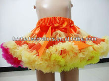 2013 Beautiful Flower Series Chiffion Pettiskirt for Girl halloween products