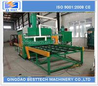 Q69 shot blasting machine, steel bar pass-through type shot blasting machine, roller conveyor type shot blasting machine
