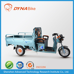 """Cost effective e-tricycle style """"DYNABike"""" brand motor tricycle for cargo"""