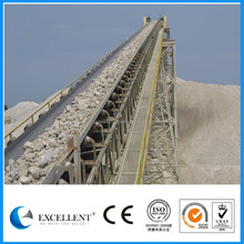 Belt conveyor for quarry and mineral processing plant