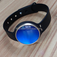 Wholesale cheap smart wristband, LED bluetooth fitness activity tracker, blue sapphire ladies watch