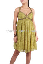 2015 Pleated fashion party club sexy sequins dress