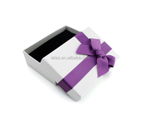 Plain white jewelry gift paper packaging boxes , pendant jewelry boxes