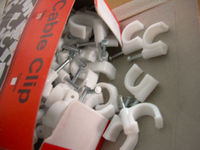 electrical wire plastic Cable Clips
