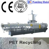 CE Plastic scraps PP/PE/PET Recycling pelletizing machine