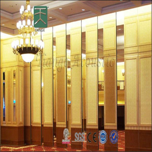 Conference sliding folding decorative hanging room divider door - Hanging sliding room divider ...