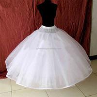 Hot Ball Gown Petticoat Crinoline Wedding Accessories Petticoat Skirts for Women Dresses B05