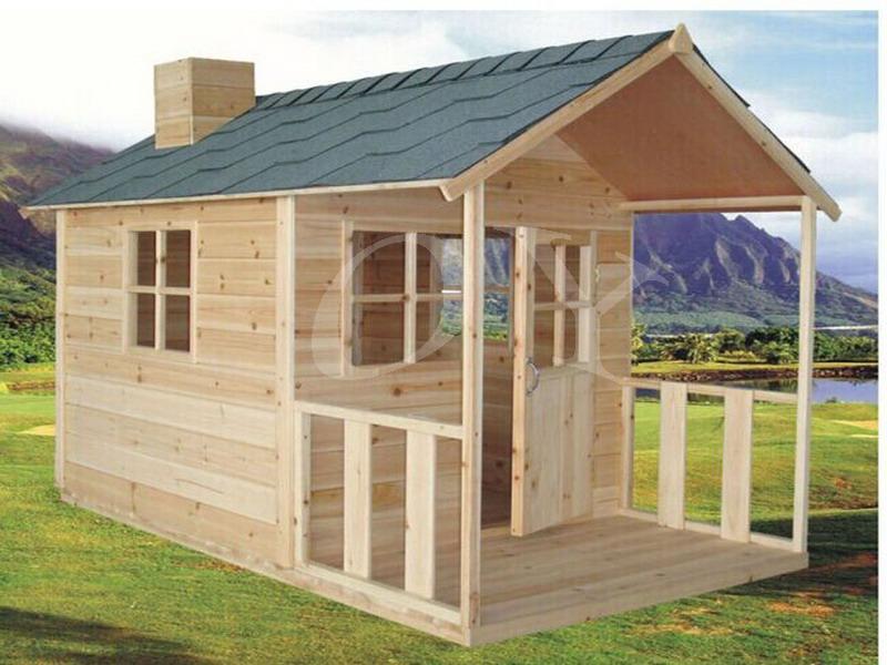 ms barato popular nios madera playhouse para nios diversin