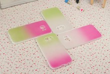 TPU+PC Mobile Phone Case Translucent Matte With Stand Galaxy S6 G9206