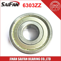 6303 Bearing 17*47*14mm Deep Groove Ball Bearing 6303 ZZ