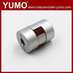 YUMO OD25 L34 ID8 Screw Slides Motor Encoder coupling flexible couplings spring coupling of shafts