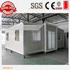 folding container house prefab expandable container homes with 2 bedroom 1bathroom