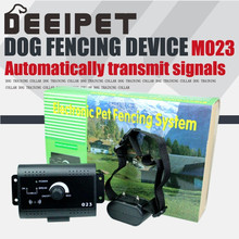 Pets Dogs Fence Hidden Invisible Fencing Systems Kit Rechargeable Bark Control Dog Training Bark Control Collar