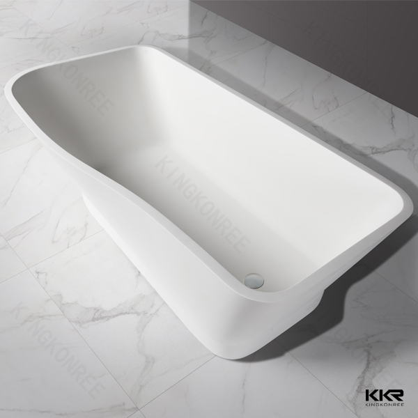 KKR stone bath / floor stand bathtub / solid surface bathtub