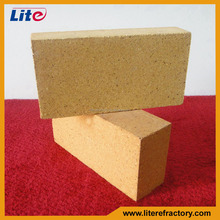 Withstand high temperature medium duty straight pizza oven fire bricks for furnaces and chimney stacks