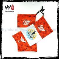 Promotional mini glasses cloth case, sungalsses case, soft bag pouch for i phone