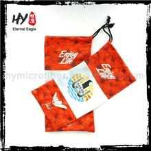 Promotional mini glasses cloth case, sungalsses case, soft bag pouch for i phone
