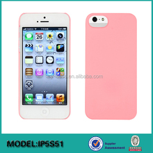 Ultra thin leather back cover case for iPhone 5S , for iPhone back cover case