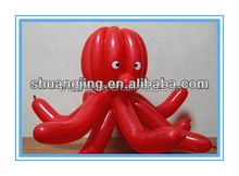 inflatable twisted latex balloon