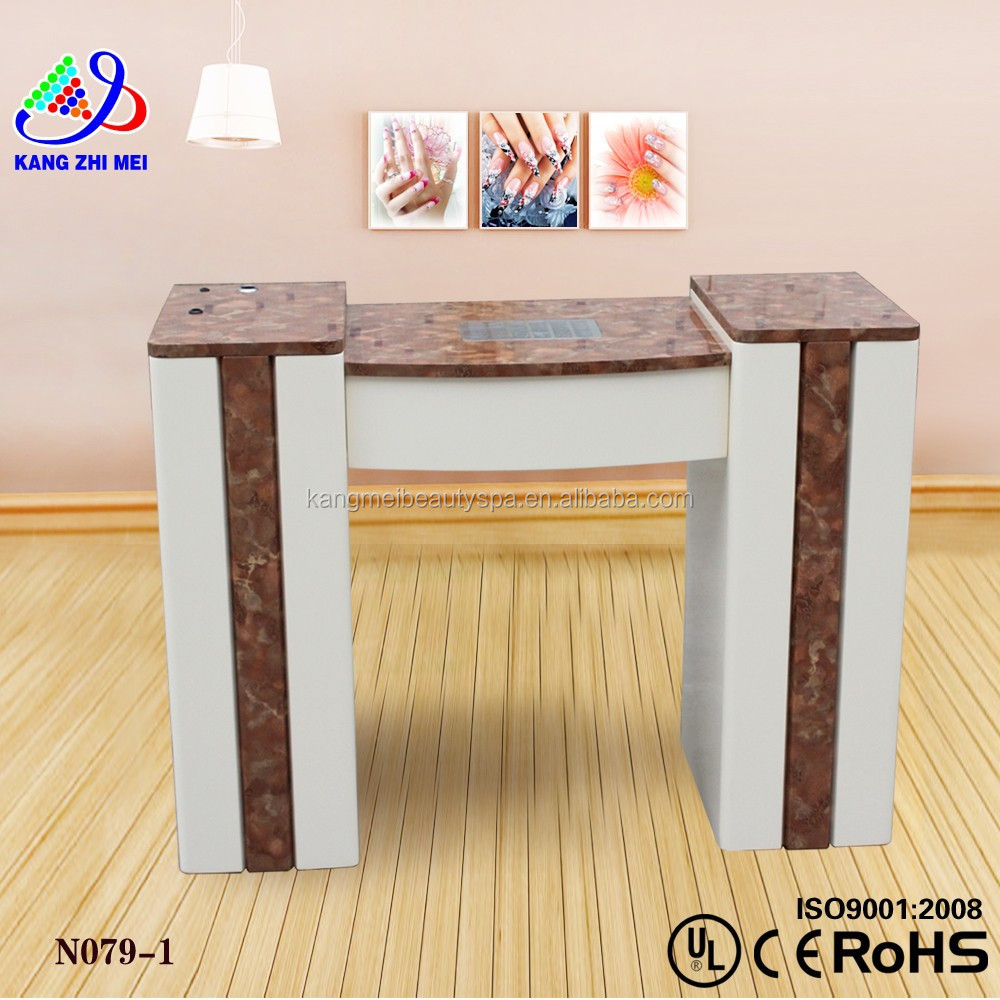 Used manicure table manicure table nail station manicure for Nail table and chairs