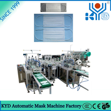 KYD 2015 New Full Automatic Disposable Surgical Mask Making Machine