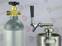 Draught beer tapping Mini gas cylinders
