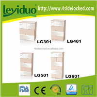 New arrival home eco-friendly plastic chest of drawers