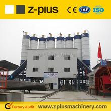 West European HZS120 Ready Mixed Concrete Plant Environment Water Recycling concrete plant