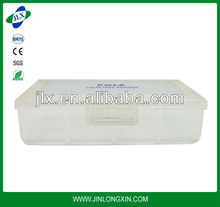 transparent PP food packing box, food grade lunch container