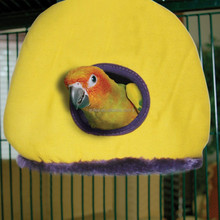 New Style Plush Bird Snuggle Sack/Bird Cage/Bird house