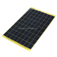 Hot Sale High Quality 10W Epoxy Resin Solar Panel Poly Solar Panel 12v+Diode For Charge 12v Battery