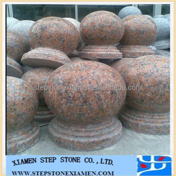 Decorative chinese granite garden product stone balls