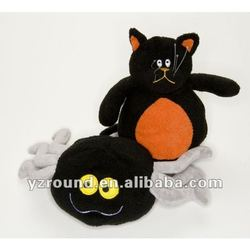 Halloween Monster Cat & Spider Dog Toys plush toy
