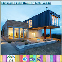China strong steel structure european modular homes for sale