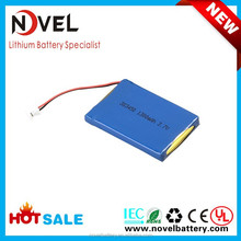 3.7V 1300mAh 383450 Li-polymer rechargeable battery