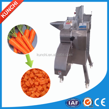 High qulity commercial onion/potato/carrot cube slicing machine / vegetable/fruit dicing machine