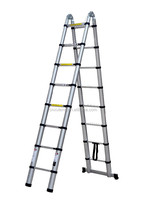 aluminium telescopic ladder wurth,multi-purpose aluminum ladder