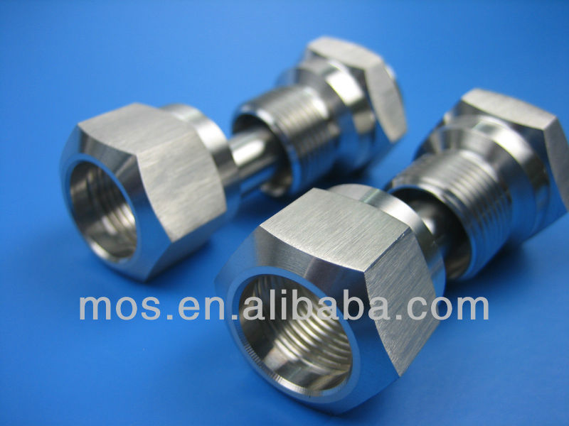 [Stainless Steel 304/316] Precision Machined Fitting Parts [Mirror Polish/Low Gloss Polish/Dull Polish]